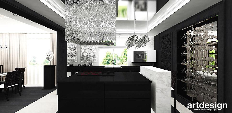 dekoracyjny okap design kuchnia