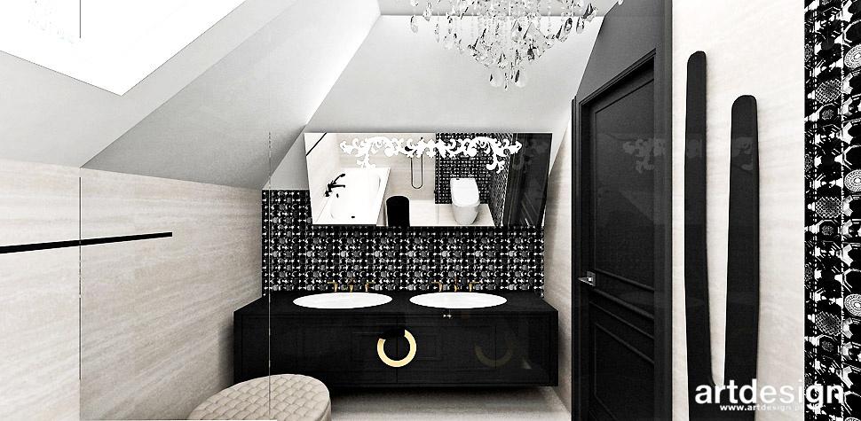 łazienka niebanalna aranżacja