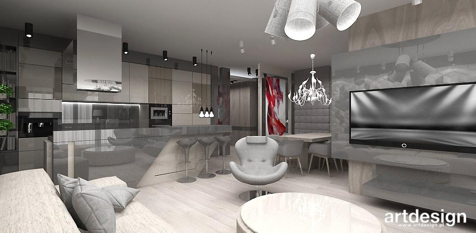 architekt wnętrz projekt apartamentu