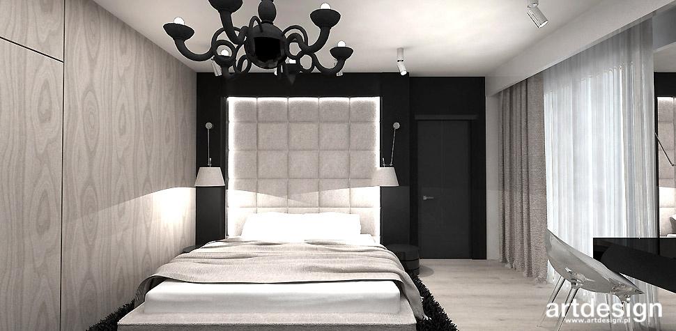 luksusowa sypialnia projekt wnętrz