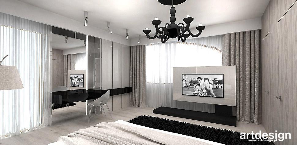 sypialnia nowoczesne wnętrze
