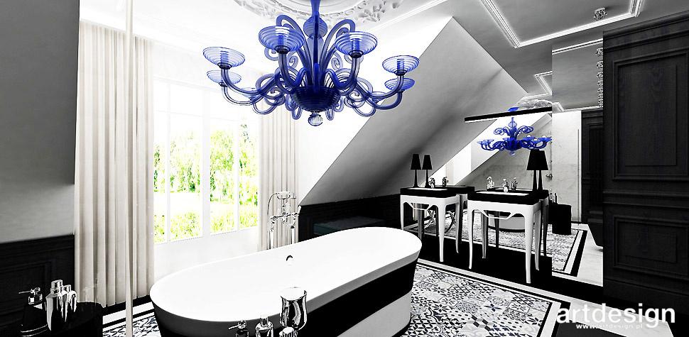 projekty łazienek posadzka marokańska
