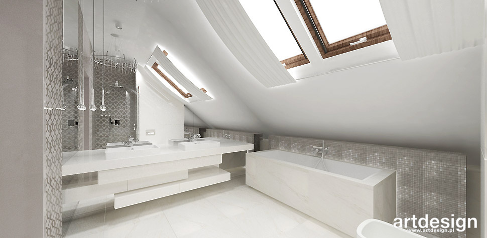 jasna łazienka eleganckie wnętrza