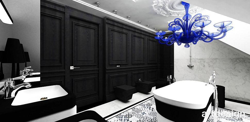 trendy architektura wnętrz łazienka