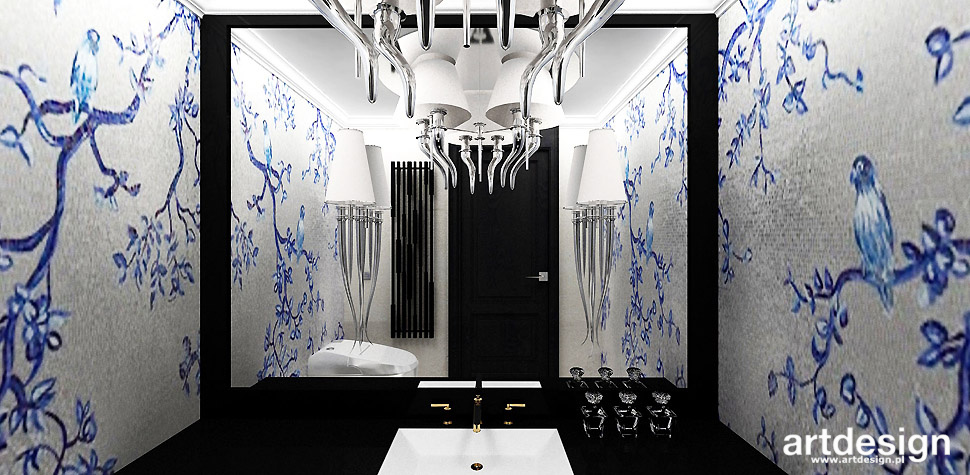 mozaika w łazience inspiracje projekty