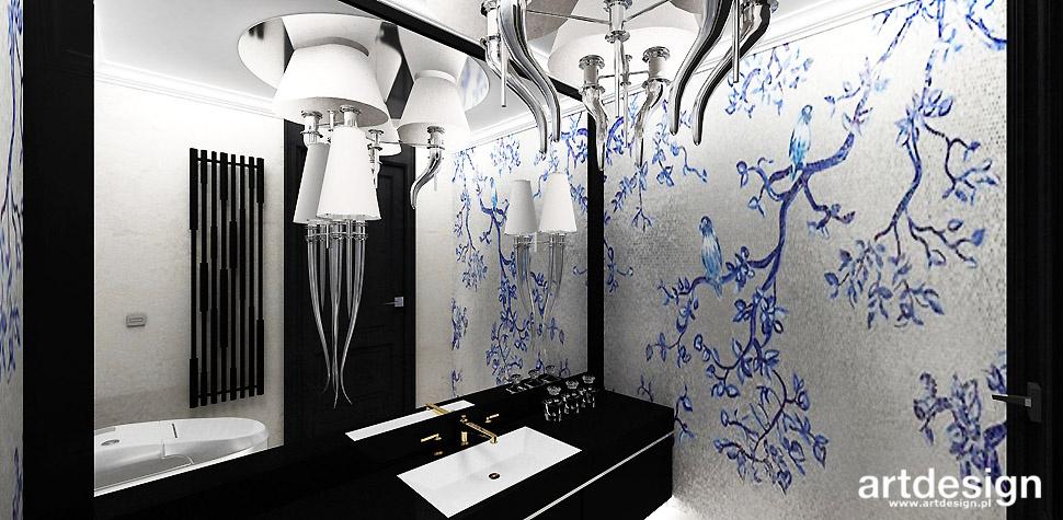 łazienka mozaika styl orientalny