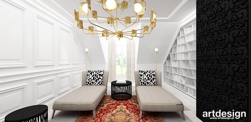 luksusowe aranżacje architekt wnętrz