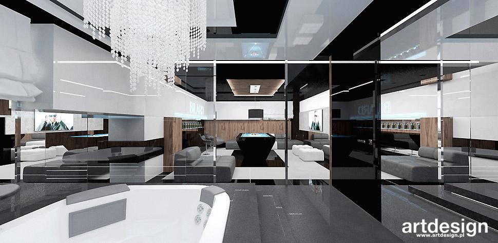 ekskluzywny dom projektowanie wnętrz