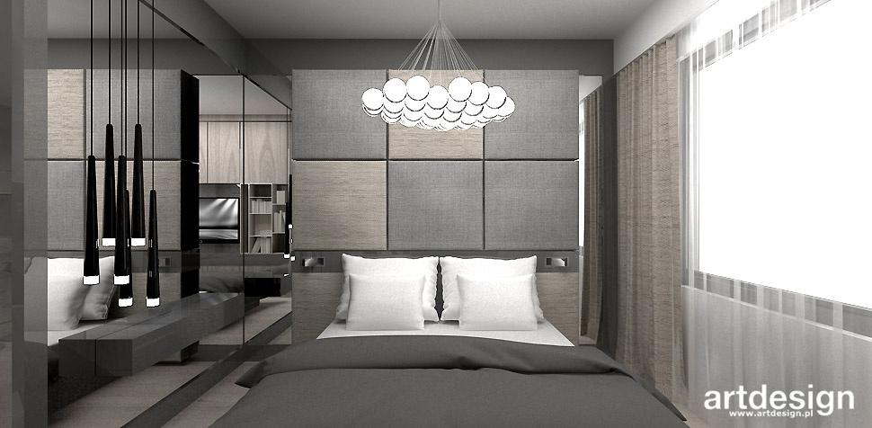 luksusowa sypialnia wnętrze aranżacja