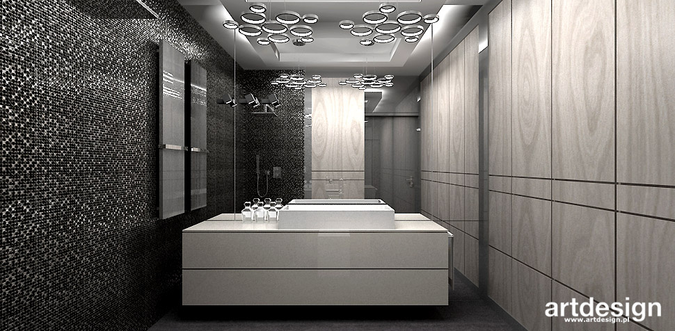 luksusowa łazienka projekt wnętrza