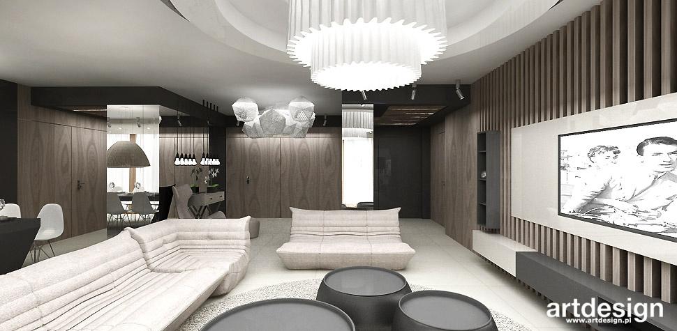 projekt pokój dzienny wnętrza