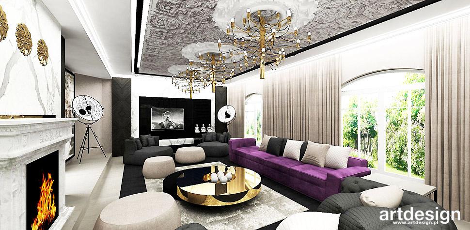 dom wnętrze styl eklektyczny