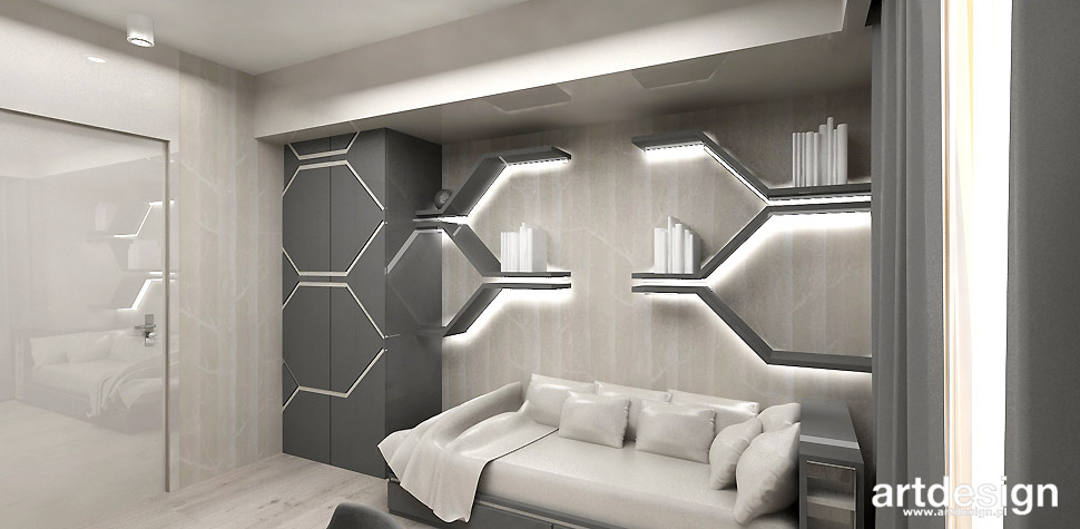 pokój dla nastolatka wnętrza