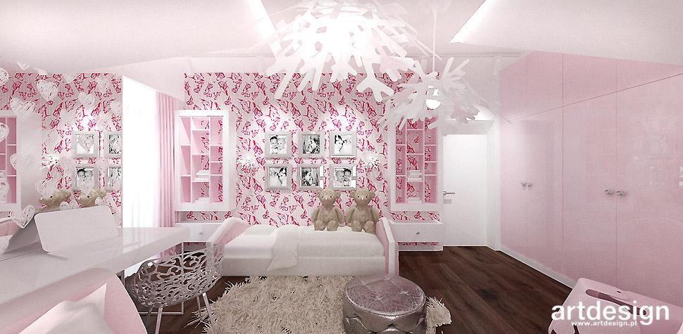 pokój córki wnętrze inspiracje