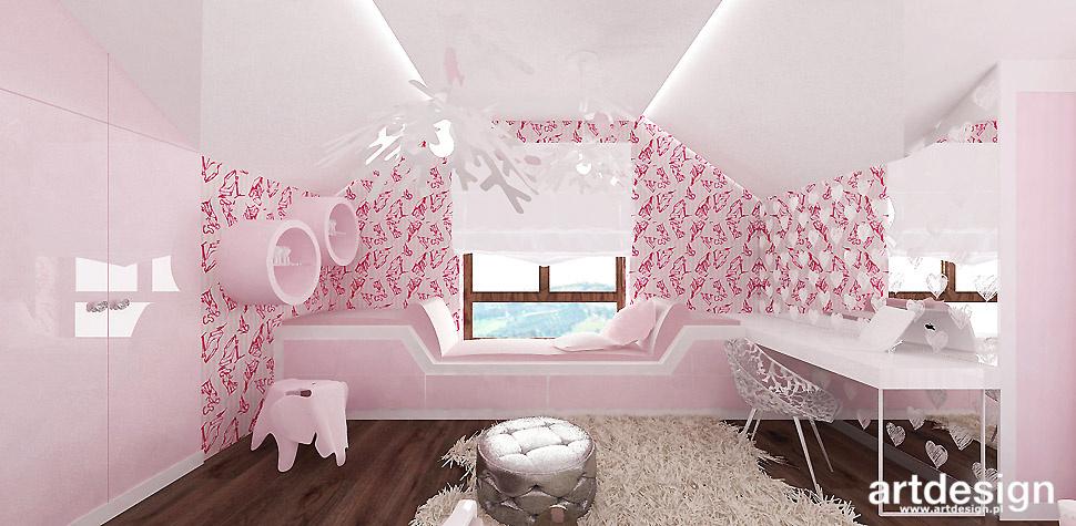 projektant wnętrz pokoje dzieci