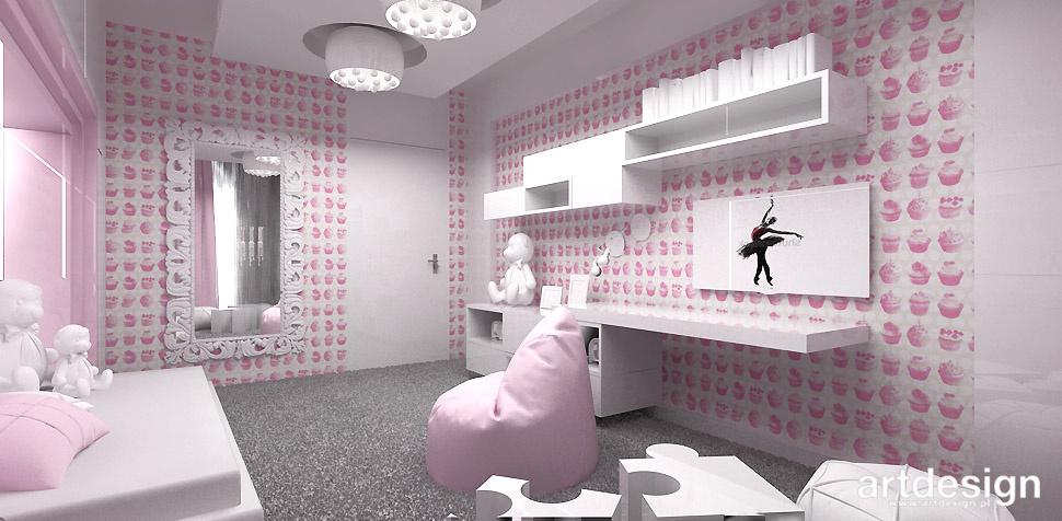 pokój córki projekt wnętrza