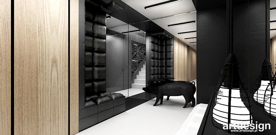 nowoczesne wnętrze hol dom