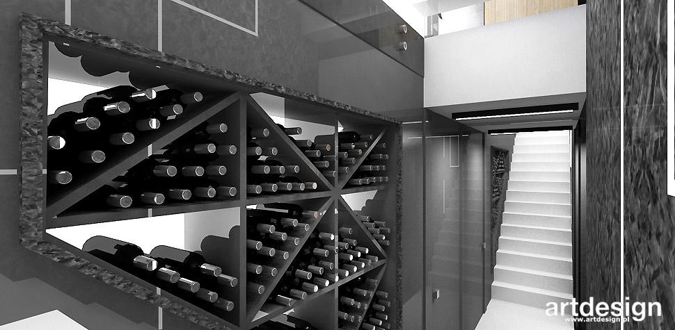 piwniczka winiarnia wnętrze aranżacja