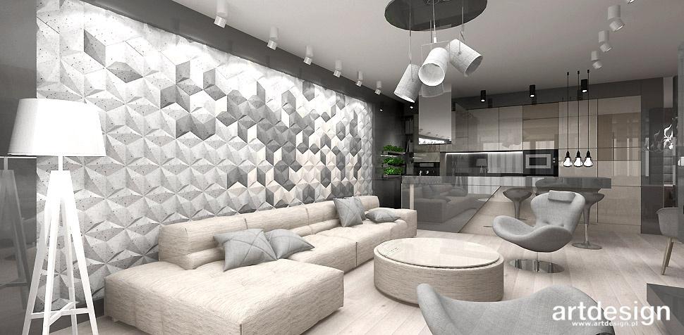projekt apartamentu nowoczesne wnetrza