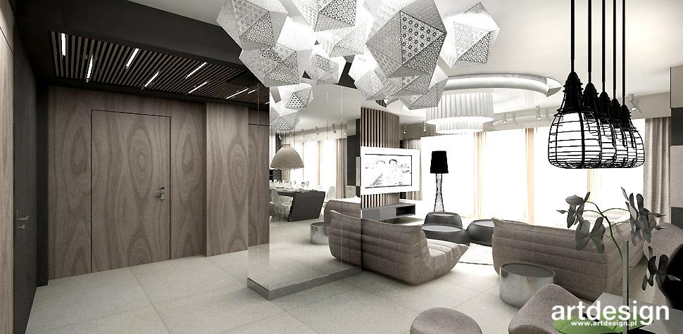 nowoczesne aranżacje apartamentu