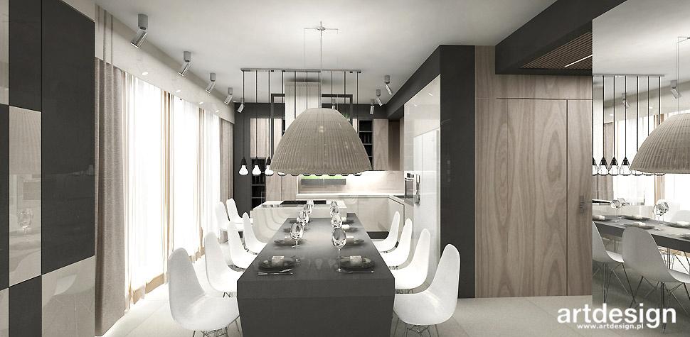 projekt otwarta kuchnia