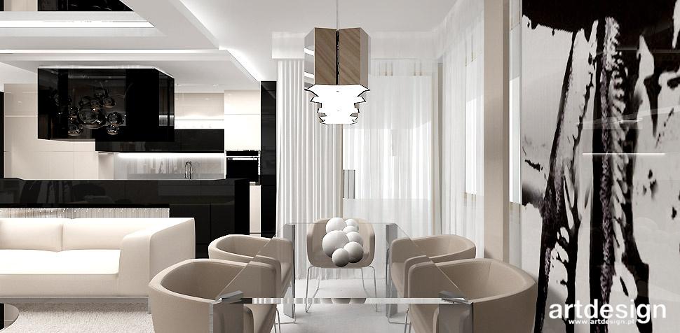 nowoczesna jadalnia mieszkanie