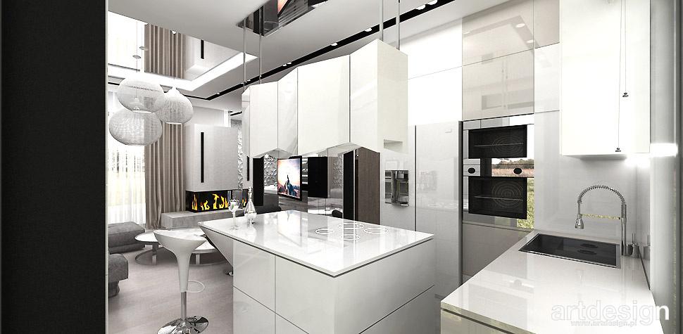 projektowanie wnętrz kuchnia trendy