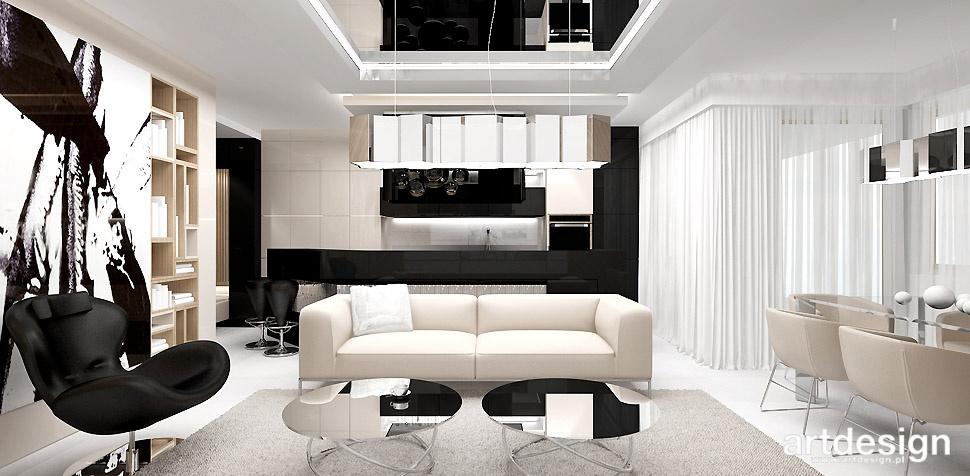 projektowanie wnętrz apartament
