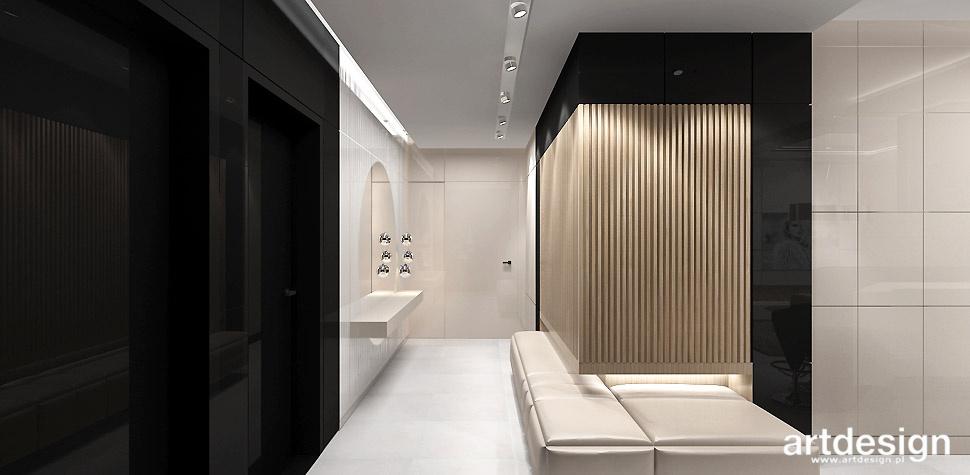 elegancki hol nowoczesne wnętrza