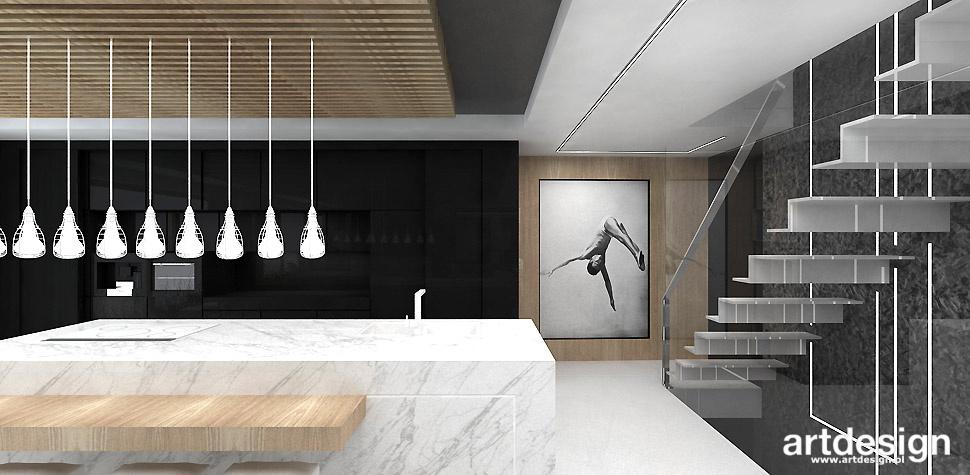 wnętrza minimalistyczne projekty
