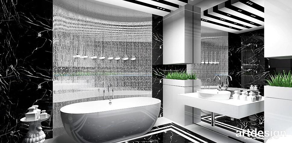 luksusowa łazienka projekt