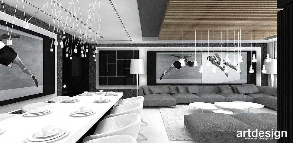 projektowanie wnętrz styl nowoczesny