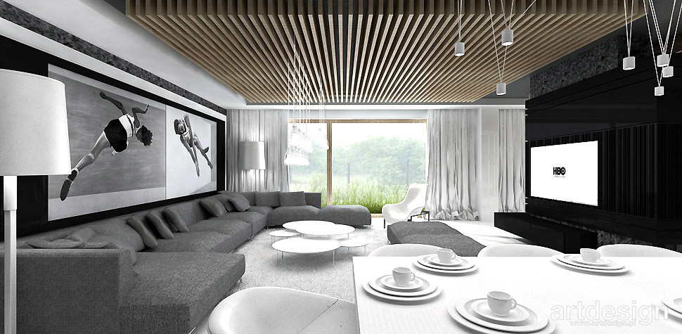 wnętrze domu architektura