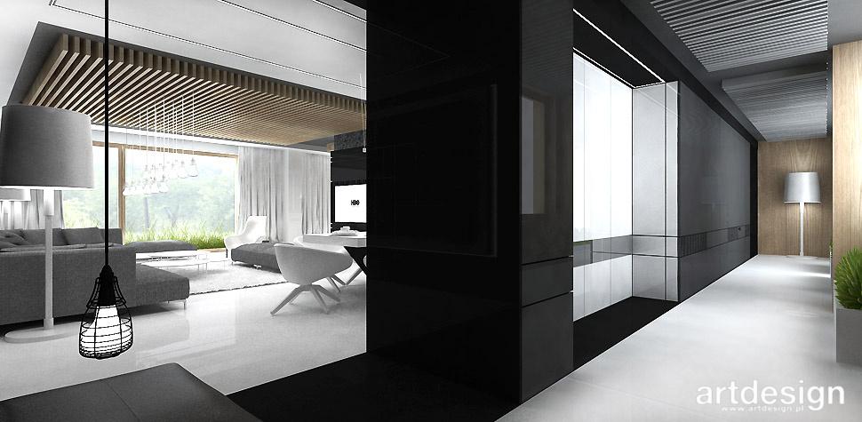 nowoczesny dom architektura wnętrza