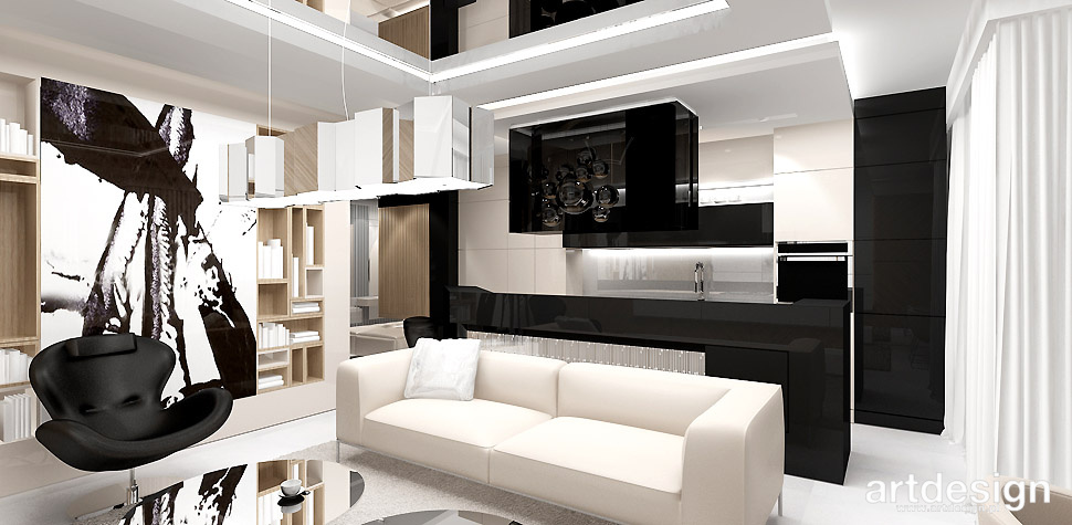 nowoczesny wystrój mieszkania
