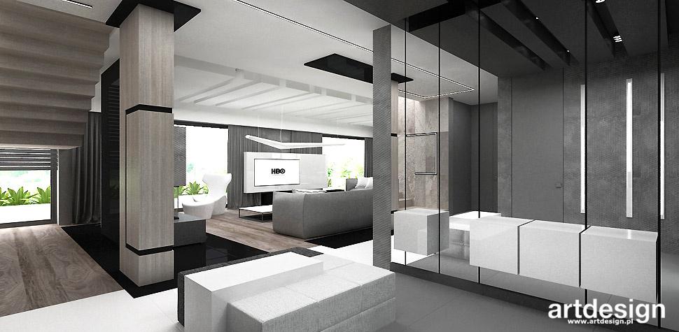 projektowanie wnetrz domu architekt