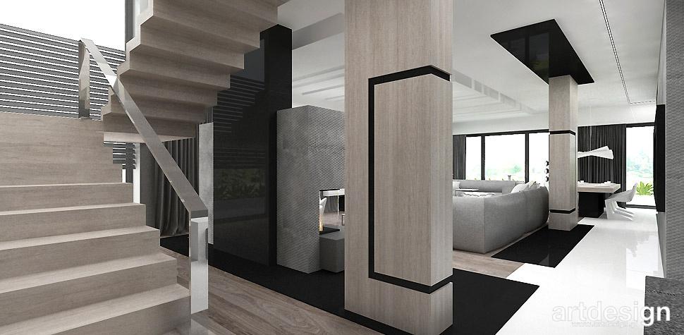 projekt schodow architektura wnetrz