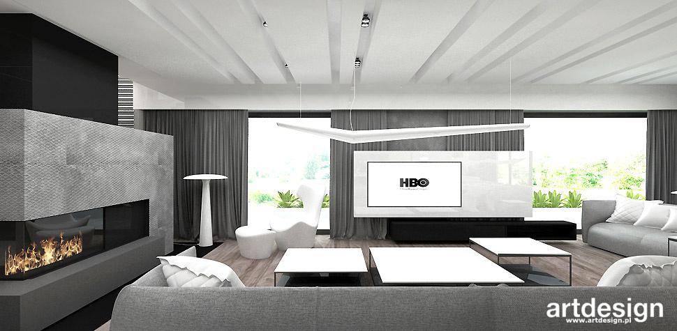 eleganckie wnętrze salon