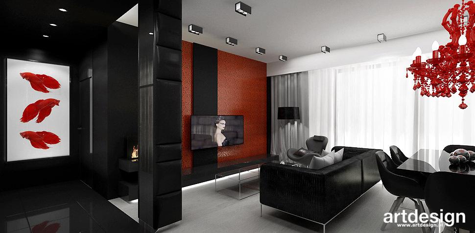projekt wnetrza apartamentu