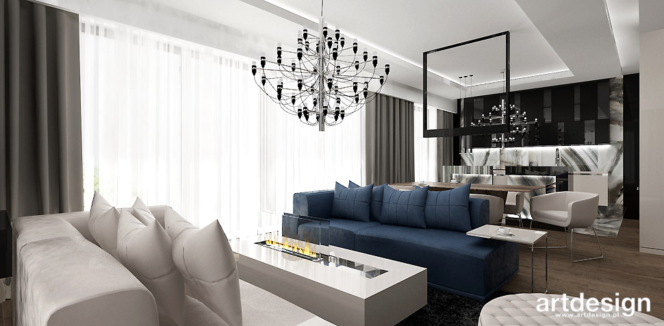 nowoczesne aranzacje mieszkania