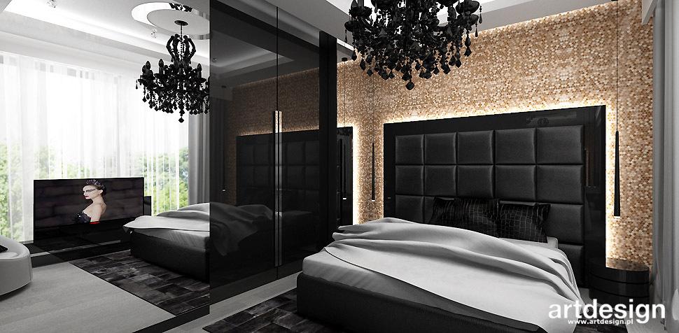 luksusowa sypialnia projekt