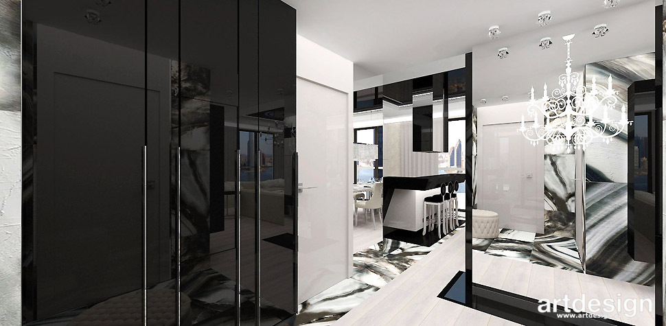 luksusowy apartament projekt