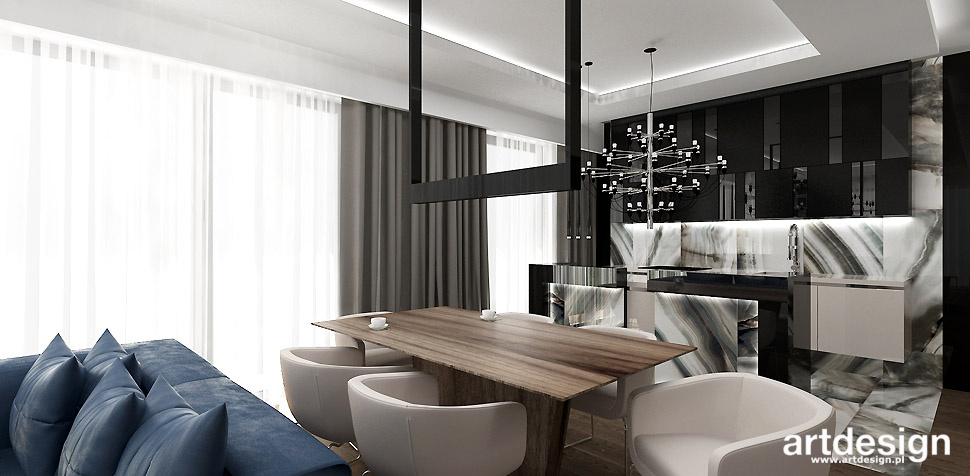eleganckie wnetrza apartament