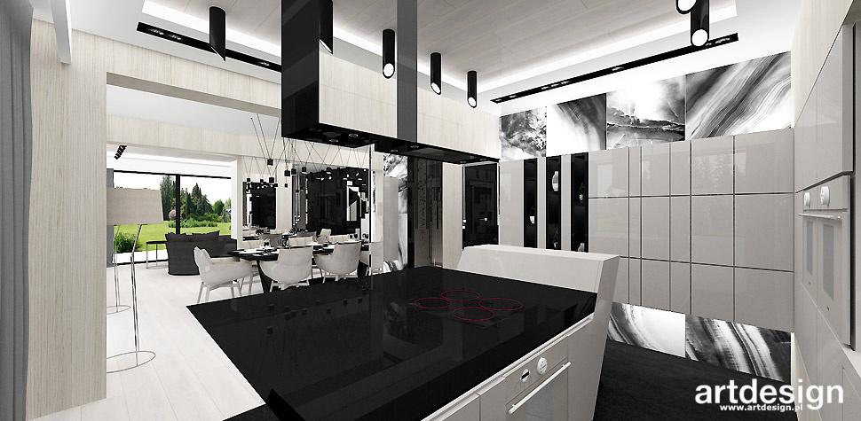 elegancka kuchnia projekt