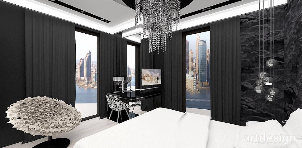 wnetrze sypialni design
