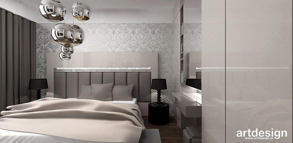 bezowa sypialnia aranzacja