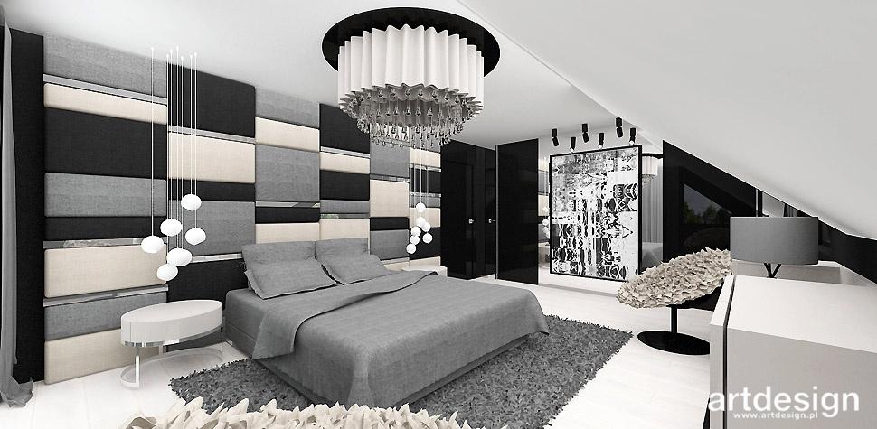 elegancka sypialnia aranzacja