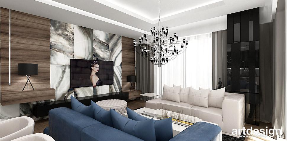 projekt salonu wnetrze