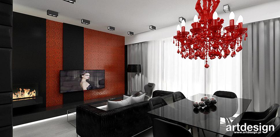 luksusowy salon projekt