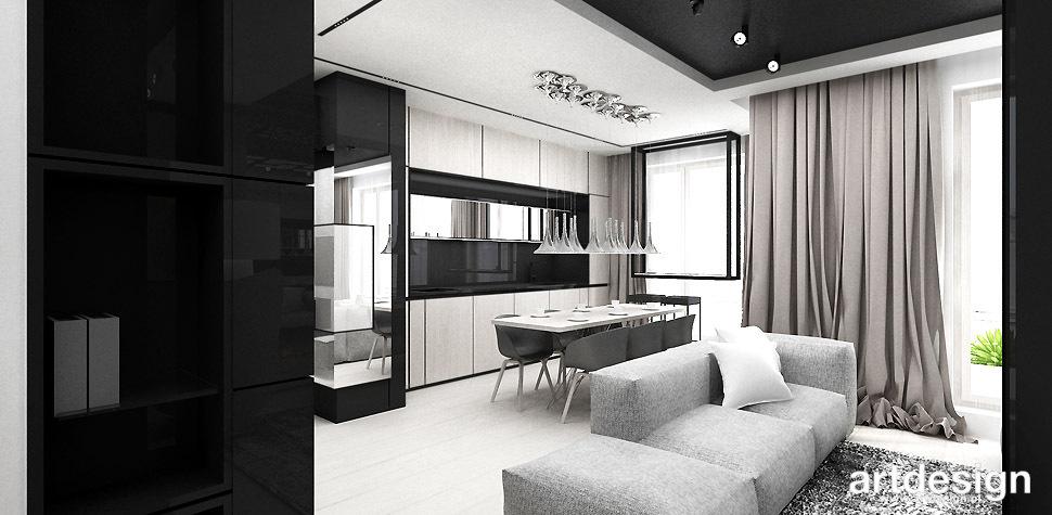 nowoczesne mieszkanie projekt wnetrz